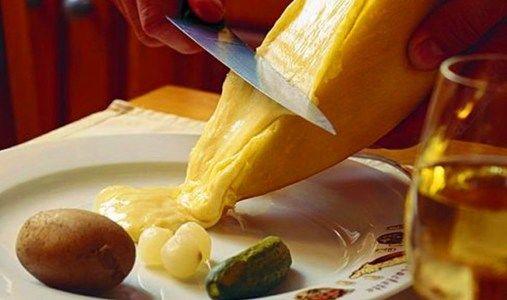 Raclette main